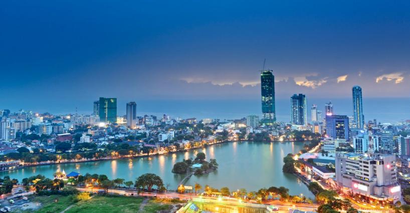 スリランカの最大都市であるコロンボ