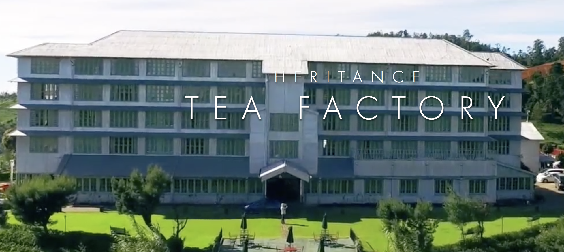 Heritance Tea Factoryの外観