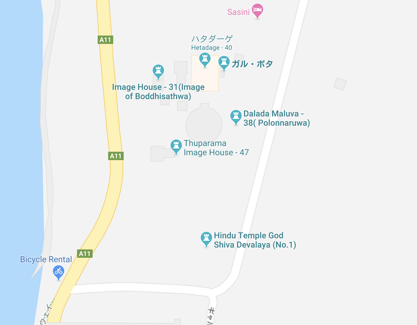 クワンドラングルの詳細地図