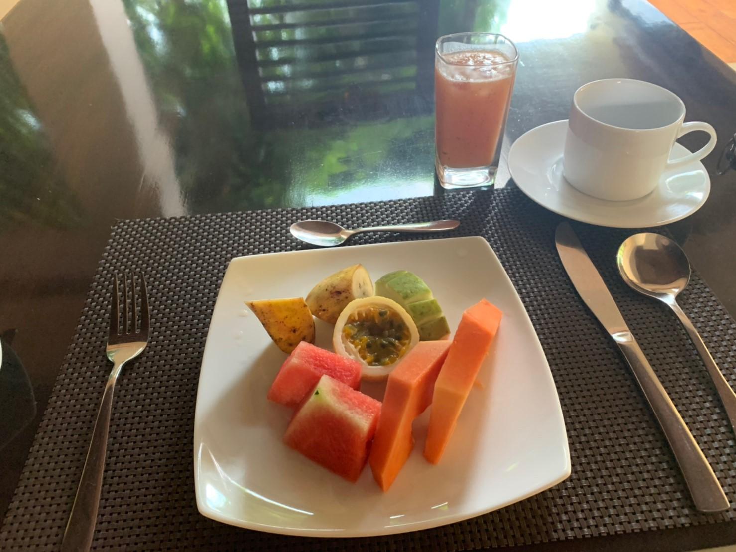 グリーンテラスアンドスパでの朝食②