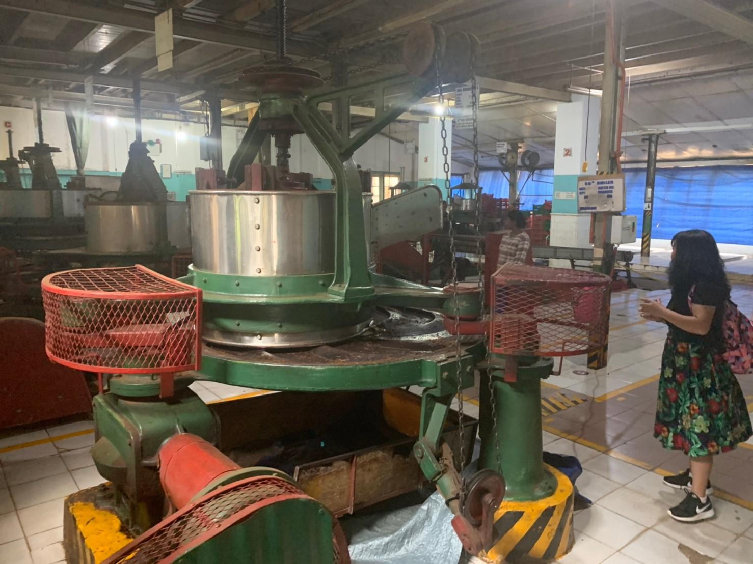 ゲラガマ・ティー・ファクトリーの製造工程