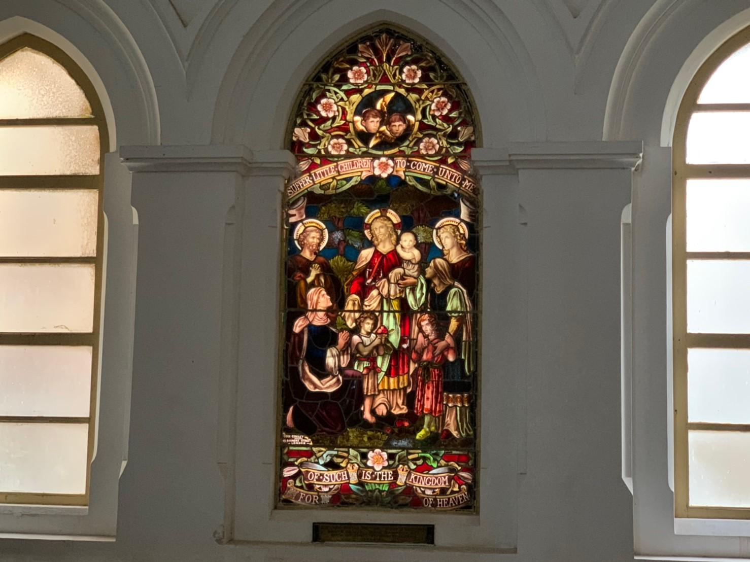 オールセインツ教会の内装