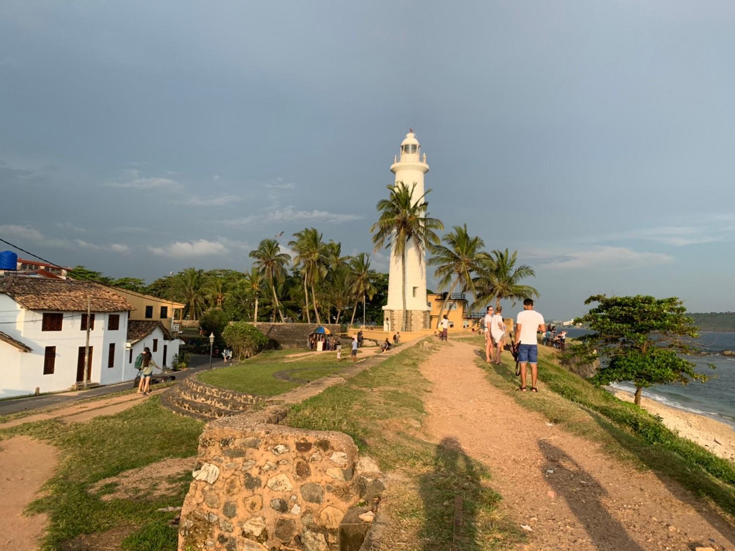 ゴールの灯台