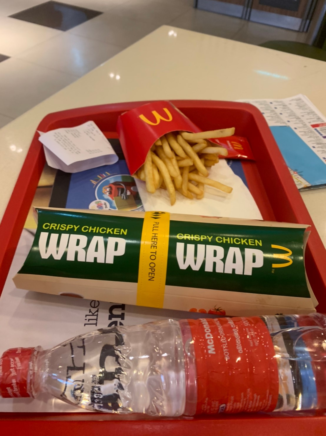 Mc Spicy Chicken Wrap