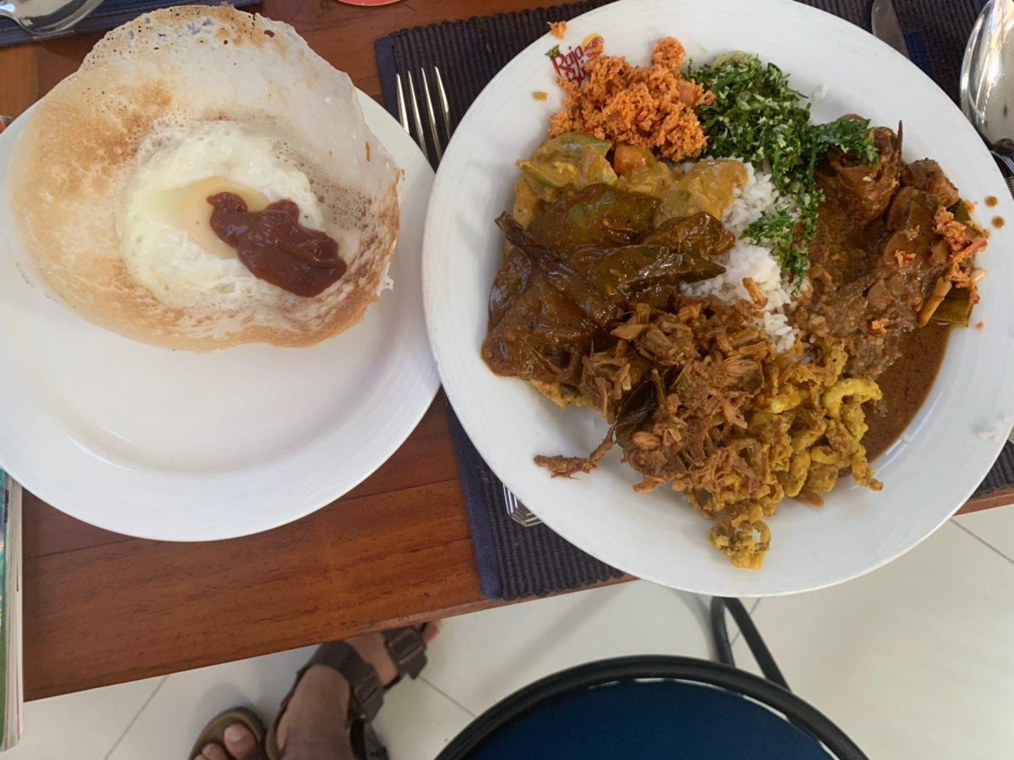 スリランカの伝統料理