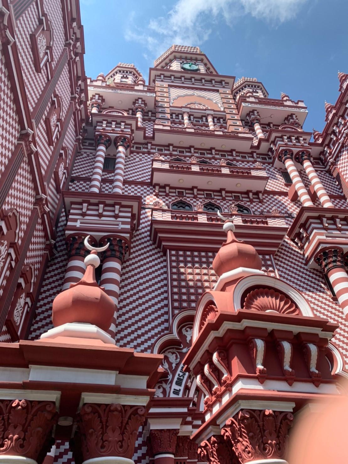 コロンボのペター地区にあるムスリム寺院